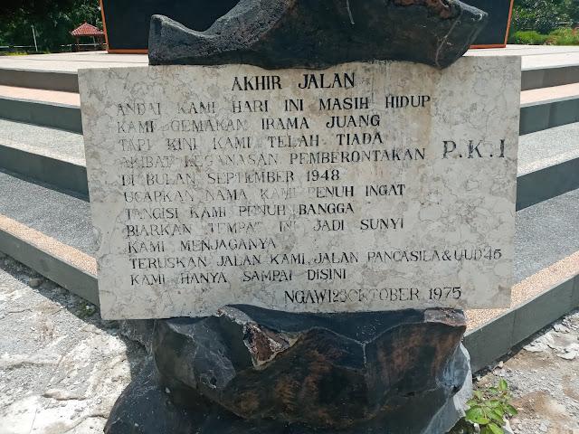 Monumen Soerjo Ngawi Menuju Wisata Cagar Budaya Kabupaten Ngawi Hits Millenial
