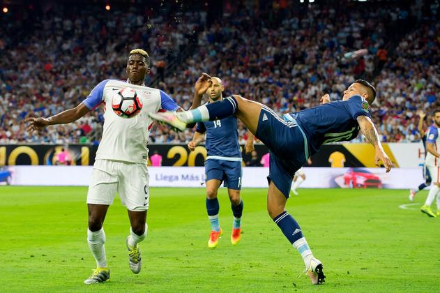 USA 0-4 Argentina Copa America