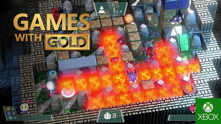 super bomberman r xbox live gold free game