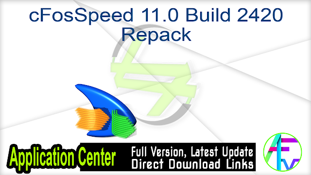 cFosSpeed 11.0 Build 2420 Repack
