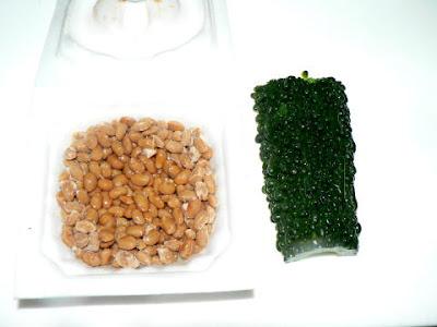納豆とゴーヤ