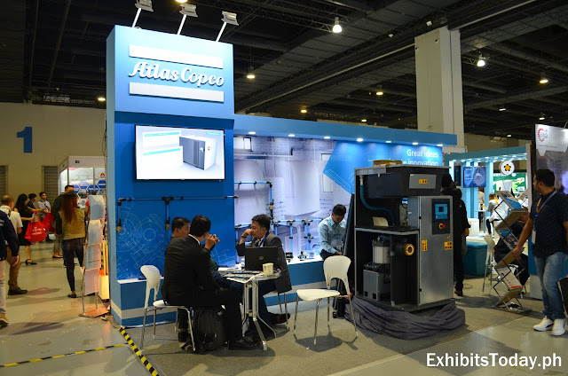 Atlas Copco Exhibit Booth