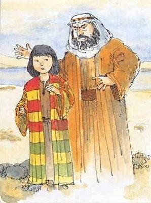 Giacobbe rimprovera suo figlio