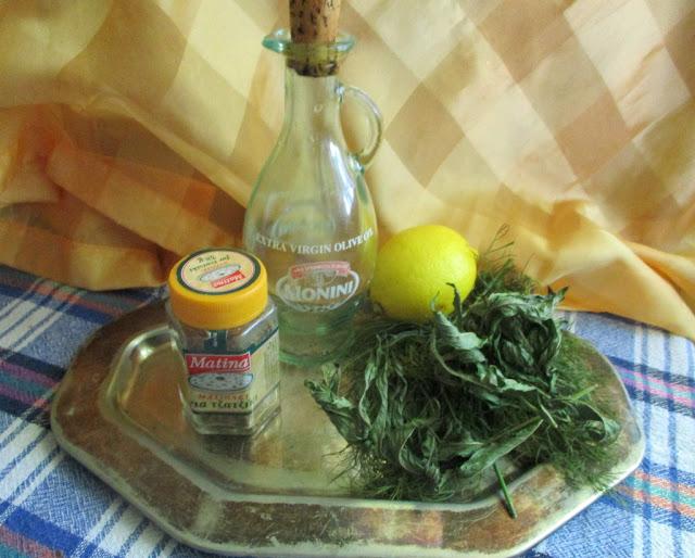 Tzatziki fűszerek