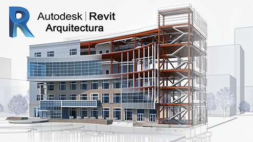 Curso Revit Arquitectura, por Rendersfactory (Cursos online Arquitectura, Ingeniería y Construcción)