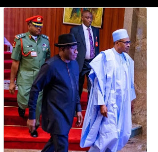 Why Goodluck Jonathan Works With President Buhari Despite Losing To Him Years Ago