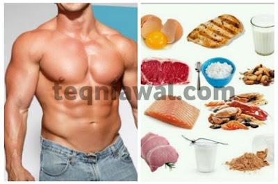 بروتين طبيغي لبناء عضلات