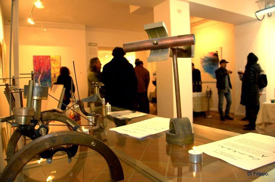 Galería de Arte Cartel, re-inauguración en Granada, Ancile