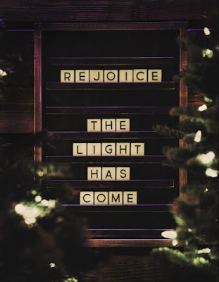 Some of us get depresses around Christmas. We need to remember the hope that we have in Jesus.