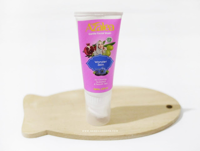 Azalea Gentle Facial Wash - Wonder Skin (Kemasan Pink)