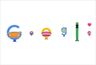 The COVID-19 vaccine has been approved in several countries. On Saturday, May 1, Google Doodle focused on wearing a mask and get the vaccine of COVID 19. In Saturday's Google Doodle, all the letters of (GOOGLE) wearing masks and celebrate that they get the COVID-19 Vaccine.