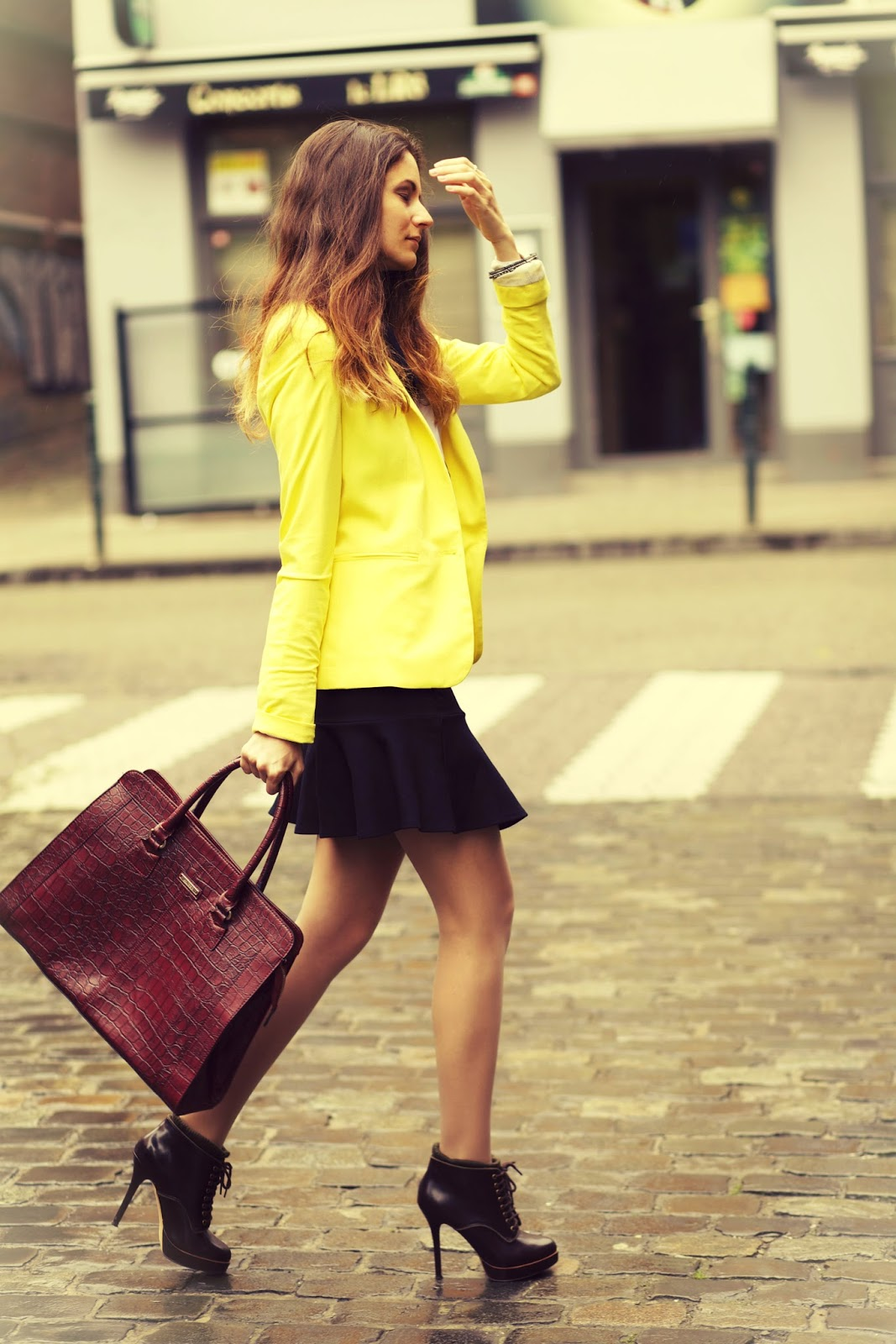 ootd: serena van der woodsen inspired outfit   from brussels, with