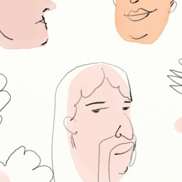 caras, ilustracion, aaron arnan