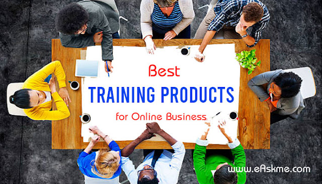 What are the Best Training Products for an Online Business?: eAskme