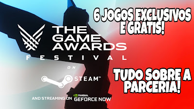 PARCERIA GEFORCE NOW E THE GAME AWARDS