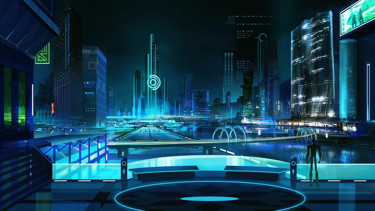 cyberpunk metropolis wallpaper - photo #21