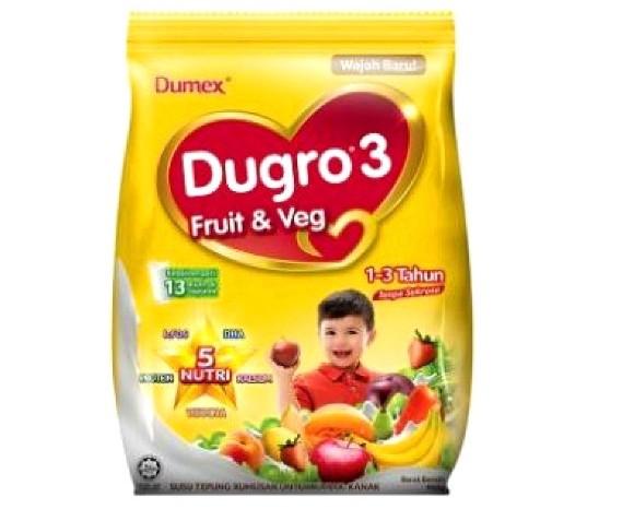 susu formula dugro fruit & veg