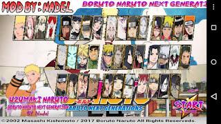 Naruto Senki Boruto Next Generation Apk