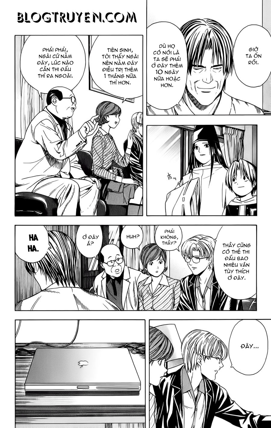 Hikaru No Go hikaru no go chap 107 trang 10