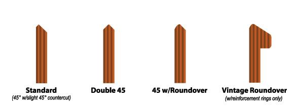 tipos de bearing edges