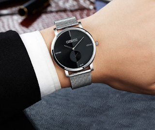 Desain Unik Jam Tangan Gaun Minimalis