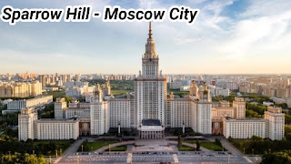 Sparrow Hill - Moscow City Russia