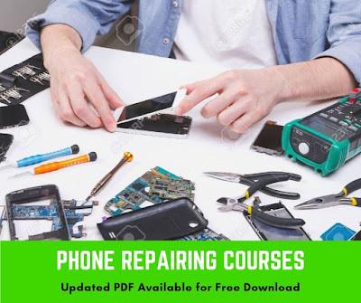 mobile repairing course syllabus pdf download here