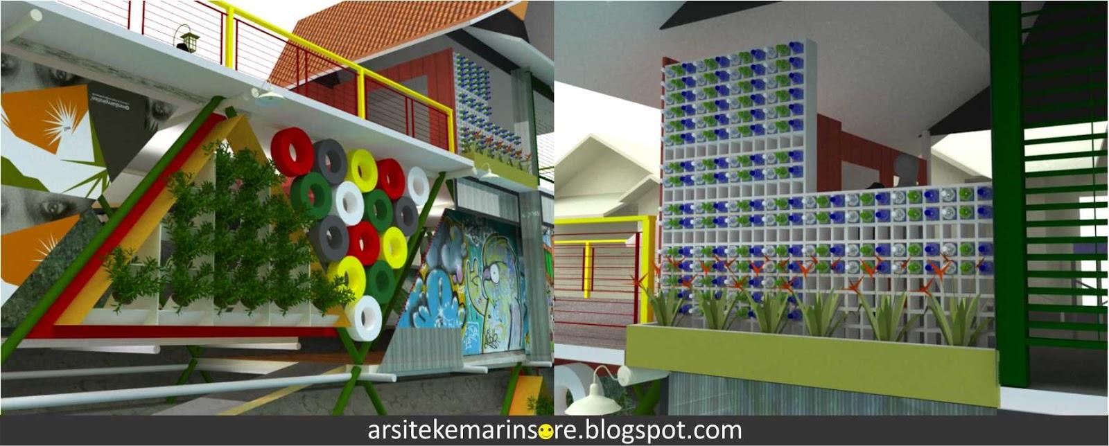 Arsitekemarinsore Ruang Publik Vertikal Kali Code