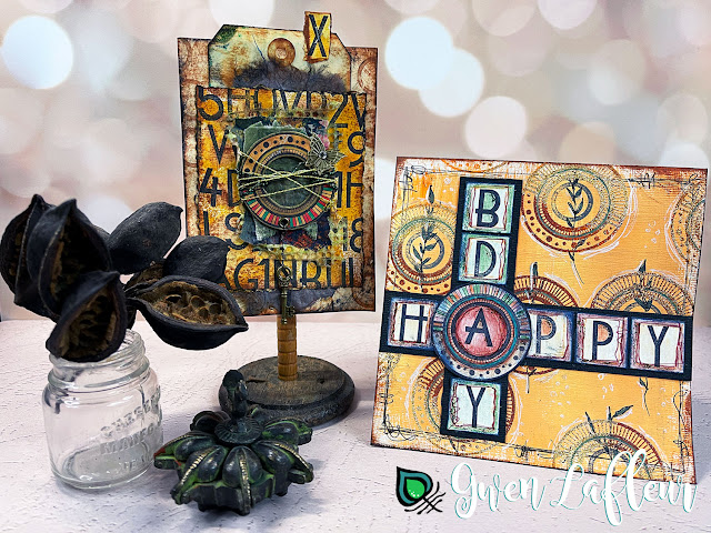 Gwen Lafleur PaperArtsy May 2021 Stamp Release - EGL16 Uppercase Alphabet Projects