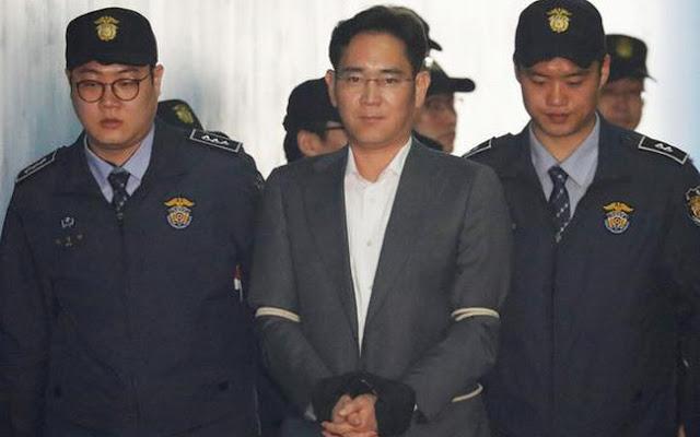 وريث عرش سامسونج يُحكم بالسجن لمدّة تسع سنوات