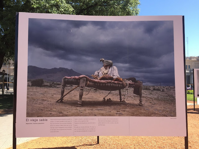 Photo Exhibit in San Martin Plaza