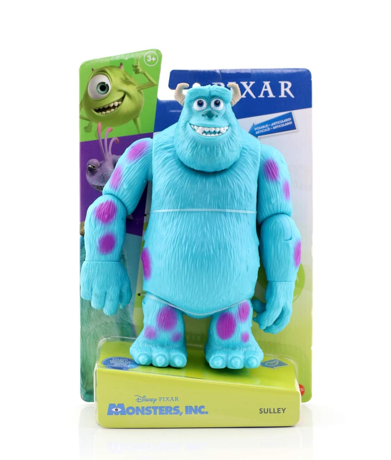 mattel pixar action figures monsters inc sulley