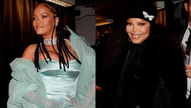 Rihanna e Janet Jackson se abraçam no Fashion Awards e Fnas imploram para que gravem uma música juntos