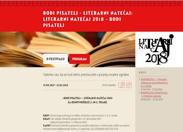 http://www.pionirski-dom.si/festivali/literarni-natecaj-2018-bodi-pisatelj