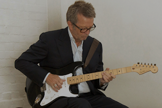 Eric Clapton playing Fender
