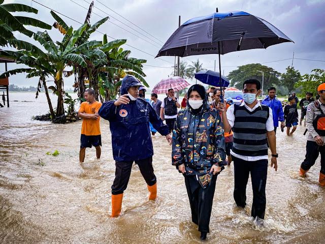 Banjir Di Sejumlah Titik, Wabub Maros Himbau Warga Tetap Waspada