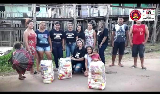Equipe Maranhão Solidariedade Ajuda famílias que perdeu tudo em incêndio no último Sábado 20, em Itaituba.