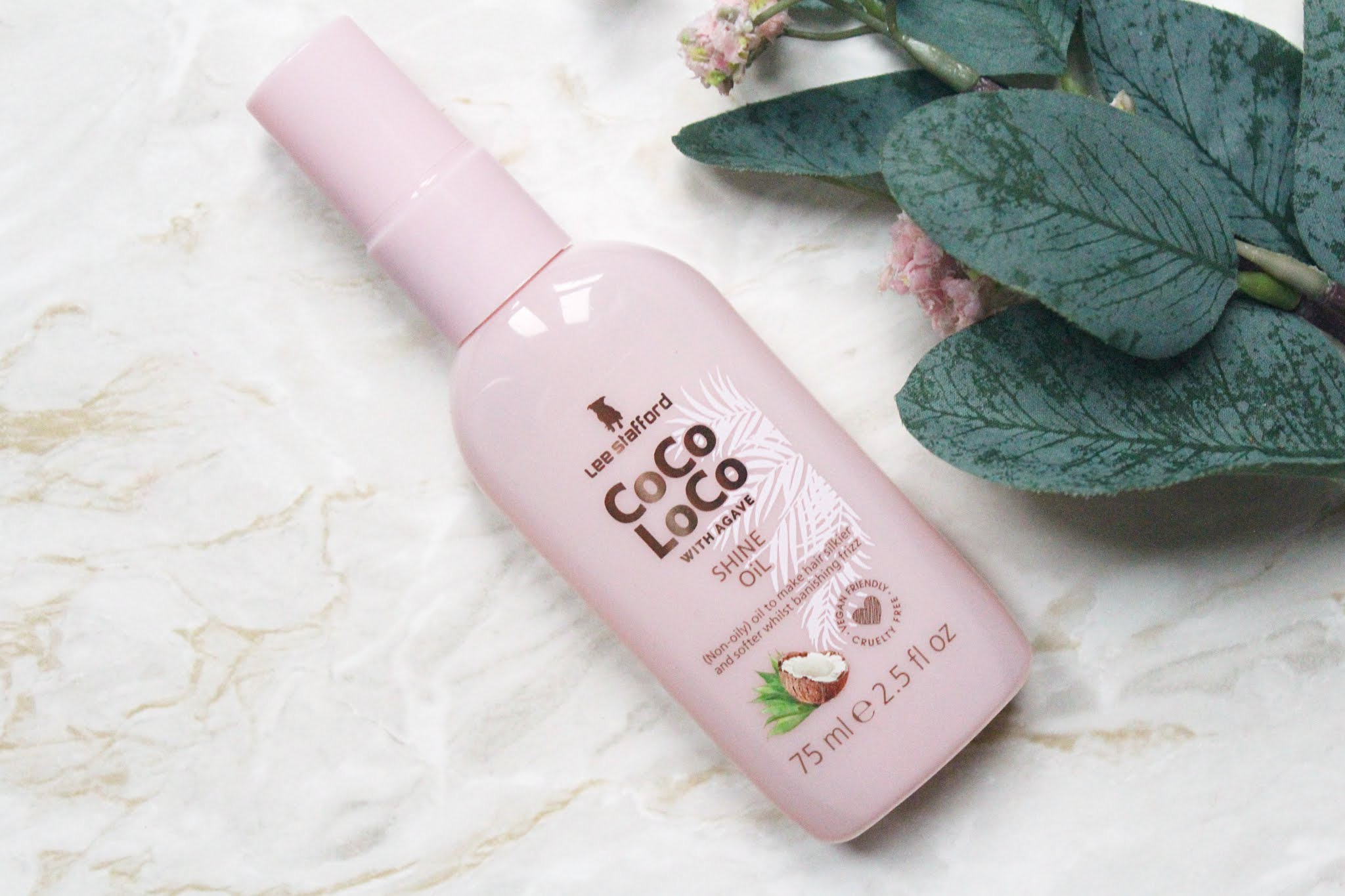 Lee Stafford Coco Loco With Agave Shine Oil Review