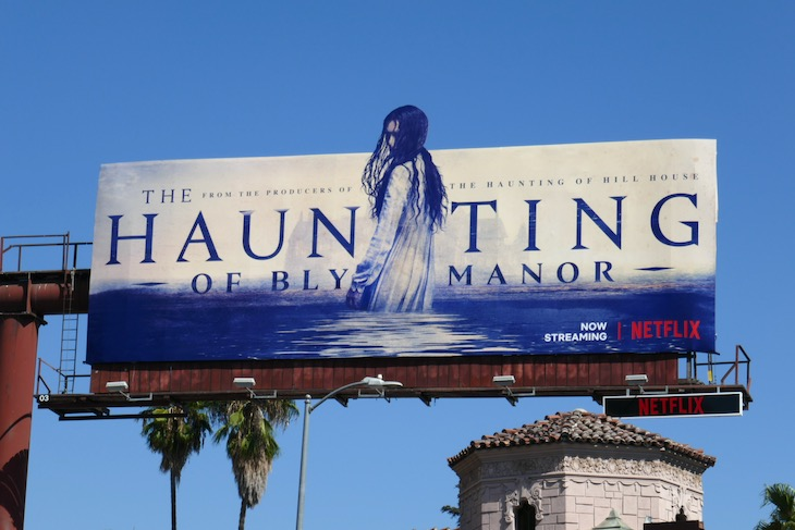 Haunting of Bly Manor series premiere billboard