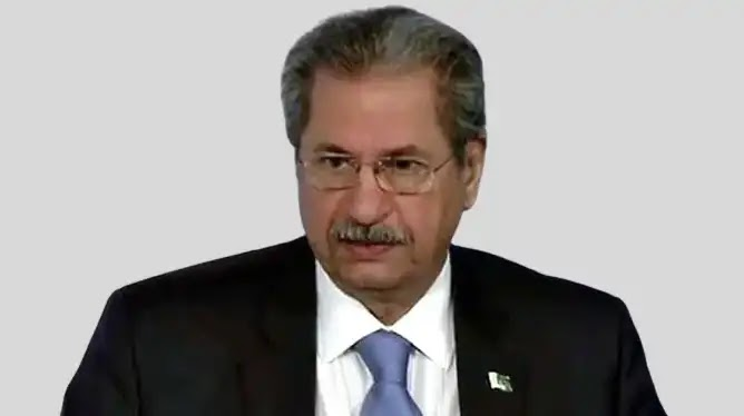 Provinces to Take Final Call On Grade 1-8 Exams: Shafqat Mehmood