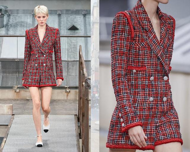 Chanel показ моды весна-лето 2020 2