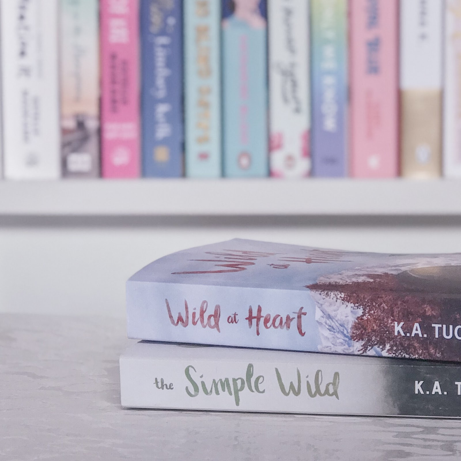 The Simple Wild Series by K.A Tucker