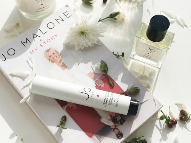Jo Loves White Rose and Lemon Leaves Paint Brush Gel Review