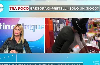 Arianna David Elisabetta Gregoraci Pierpaolo