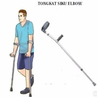 Tongkat Penahan Siku / Alat Bantu Gerak / Tongkat Elbow Sella Satuan
