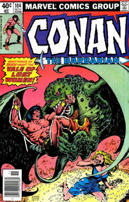 Conan the Barbarian #104, Vale of Lost Women