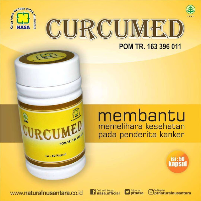 curcumed nasa herbal kanker