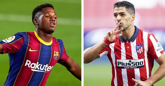 Ansu Fati and Barcelona legend Luis Suarez nominated for September La Liga player of the month