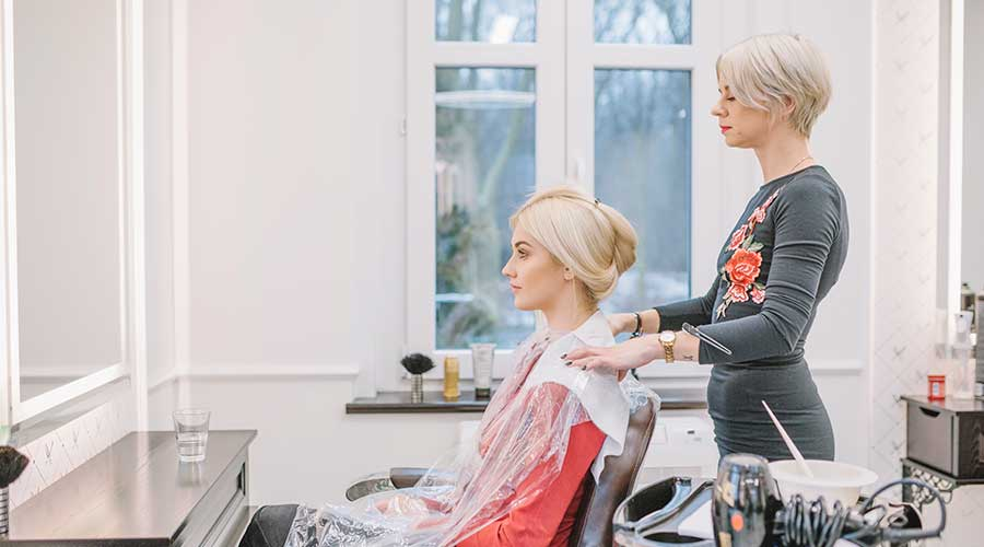types hair treatments beauty salon spa care hairstylist hairdresser menus price lists popular favorite services