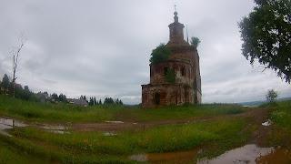 Велопоход с элементами рафтинга по Костромской, Вологодской областям